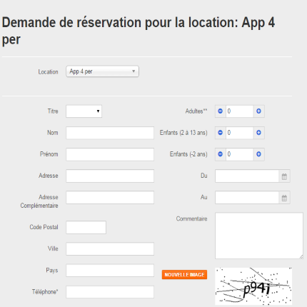 Calendrier Pour Location Saisonniere.Ereserv Logiciel De Gestion De Reservations En Ligne